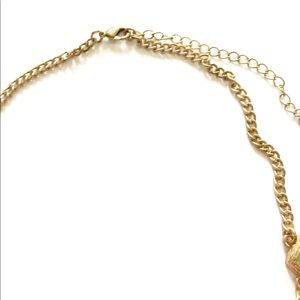 Jewelry - Green Gold Statement necklace